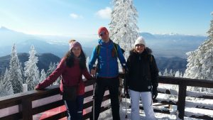 Snowshoeing trip in Carpathian mountains / Drumetie cu rachete de zapada, Dec 2017