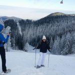 Snowshoeing trip in Carpathian mountains