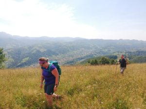 Gourmet mountain & village walk