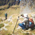 a day hike in Fagaras Mountain