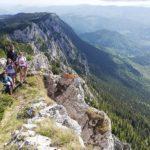 Difficult Hike in Carpathians, Romania