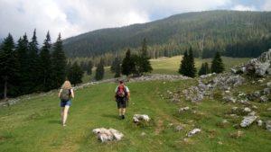 Day hike in Piatra Craiului - The Zarnesti Gorge and Curmatura Hut