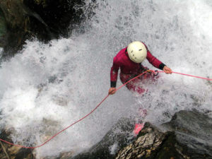 Canyoning or Body Canyonng